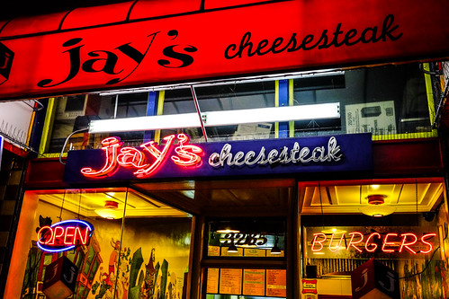 Jay's Cheesesteak Restaurant, Mission District, San Francisco by joeeisner