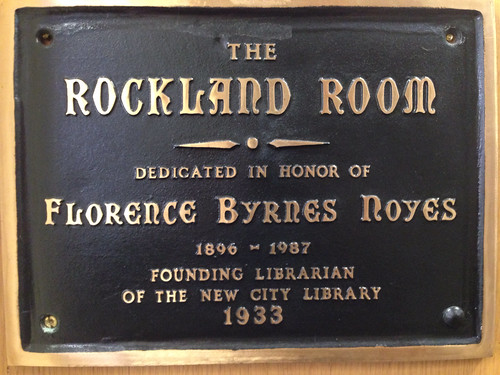 The New City Library Rockland Room