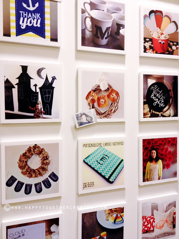 Cricut Instagram Wall A Project from each blogger
