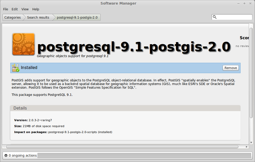 Setting up PostgreSQL and PostGIS on Linux Mint | GIS for Thought