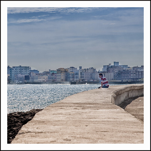 Malecon Havanna by hans van egdom
