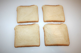 02 - Zutat Sandwichtoast / Ingredient sandwich toast