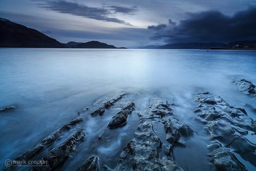 uk winter sunset beach water landscape scotland europe unitedkingdom britain eruope glencoe loch onich