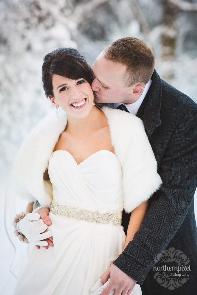 Winter Wedding Photographer Prince George Northern BC