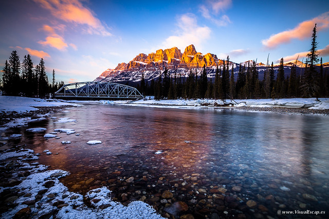 Castle Mountain, Canadian Rockies