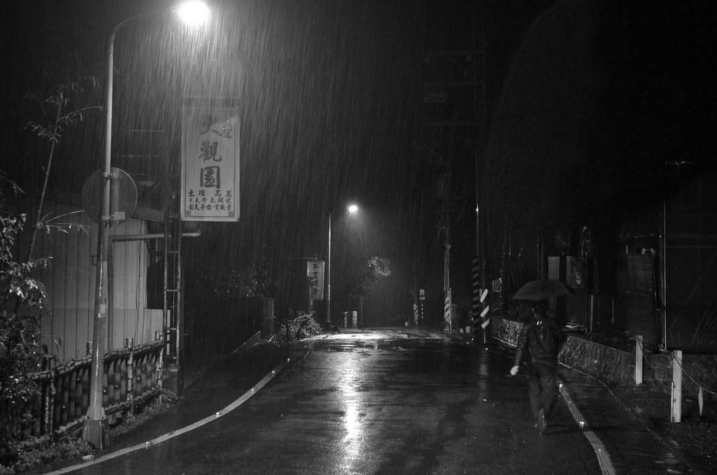 貓空•山雨