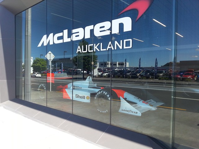 McLaren Auckland Showroom