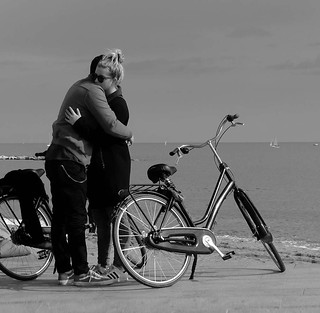 lovers and bikes ...
