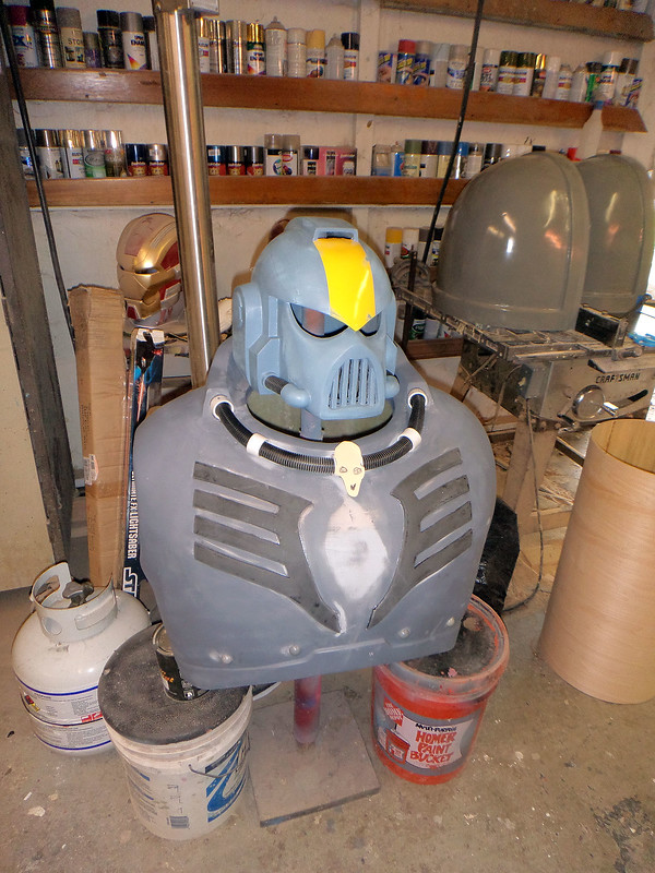 Chest and Helmet