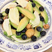 Insalata di avocado, finocchi, mirtilli e castagne al burro