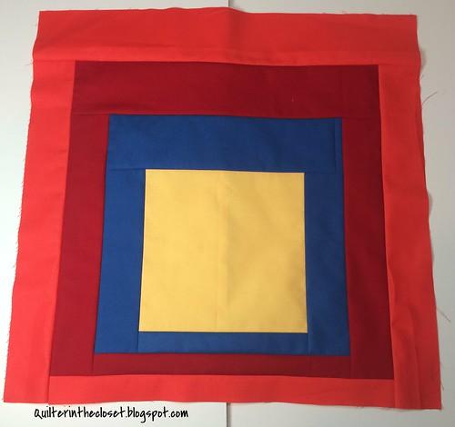 Albers inspired block