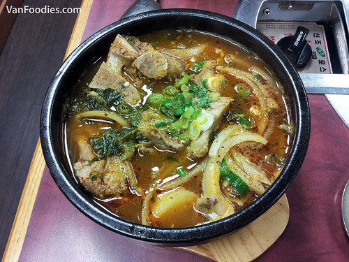 Potato & Pork Bone Spicy Soup
