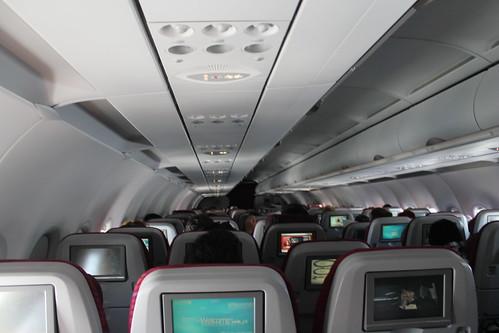 On Qatar Airways.
