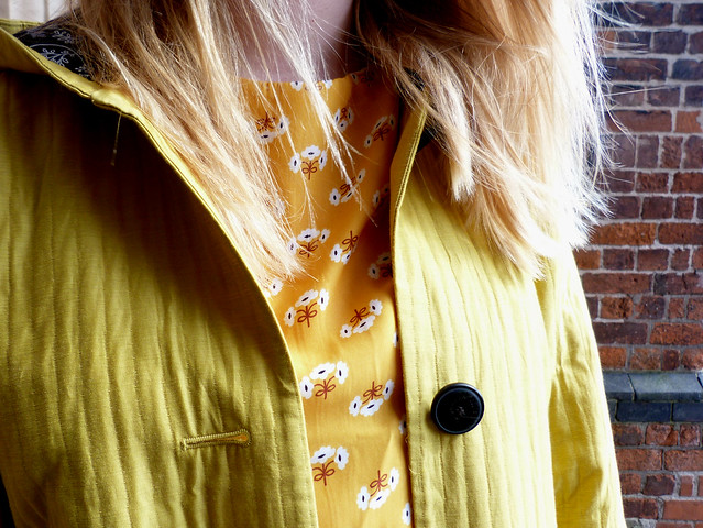 Sunshine yellow coat
