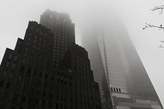 Freedom Tower B&W