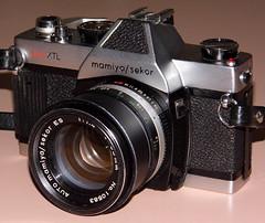 Vintage Mamiya/Sekor Auto XTL 35mm SLR Camera, Made In Japan, Circa 1971