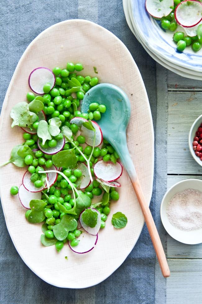 Peas & Radish Salad