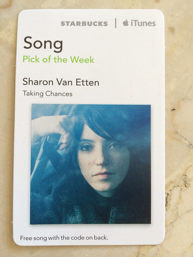 Starbucks iTunes Pick of the Week - Sharon Van Etten - Taking Chances