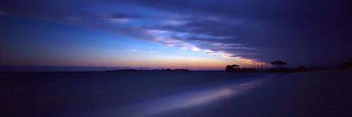 sea sunrise jetty carribean bahamas nassau sandalls weatherphotography