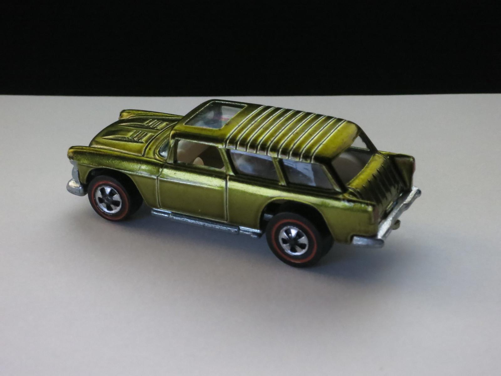 Hot Wheels Redline Olive Classic Nomad