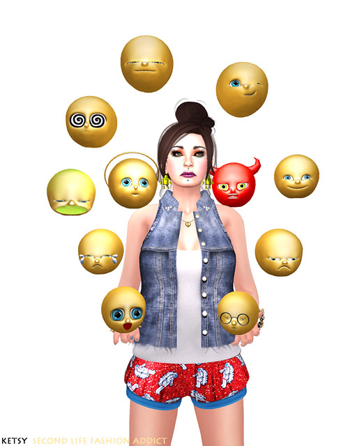 The Arcade Conundrum - BAIASTICE Emoticons Collections Preview!