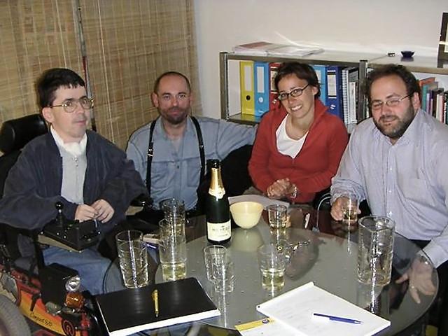 Gründungsfoto des Klagsverbandes (aus dem Jahr 2004)