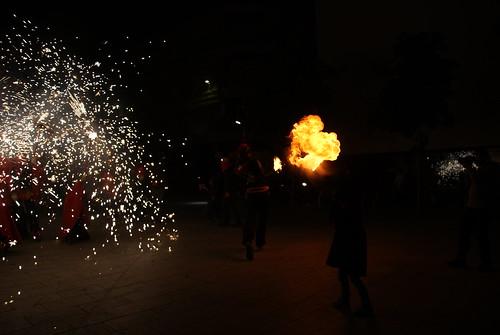 Correfoc a Sabadell 2015
