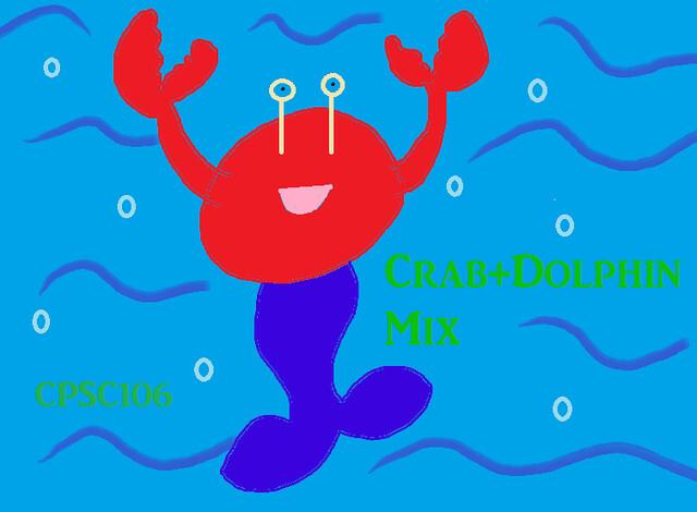 crab+dolphin