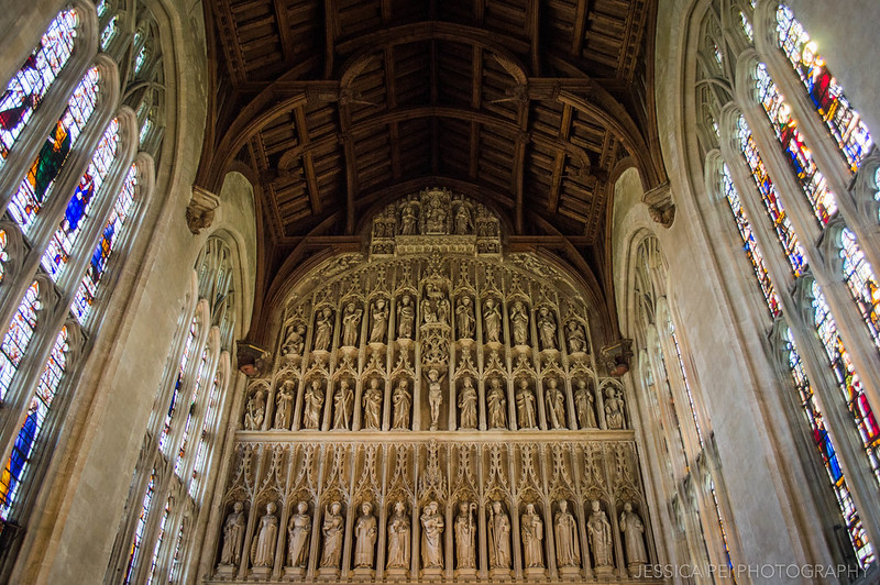 New College University of Oxford Chapel