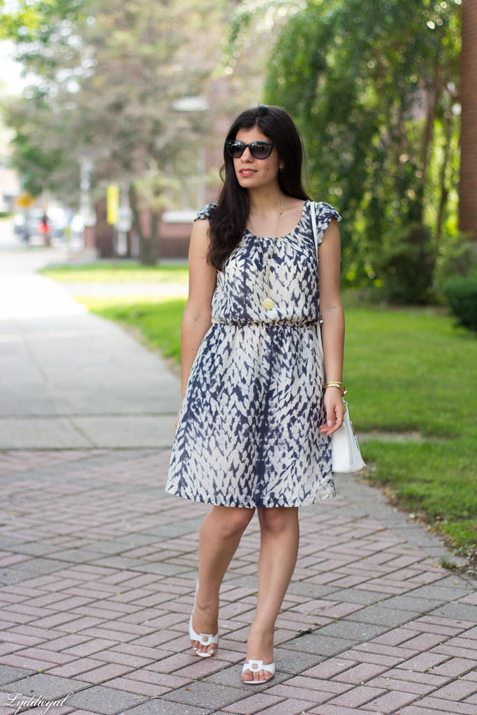 snake print dress, white bag, white sandals-1.jpg