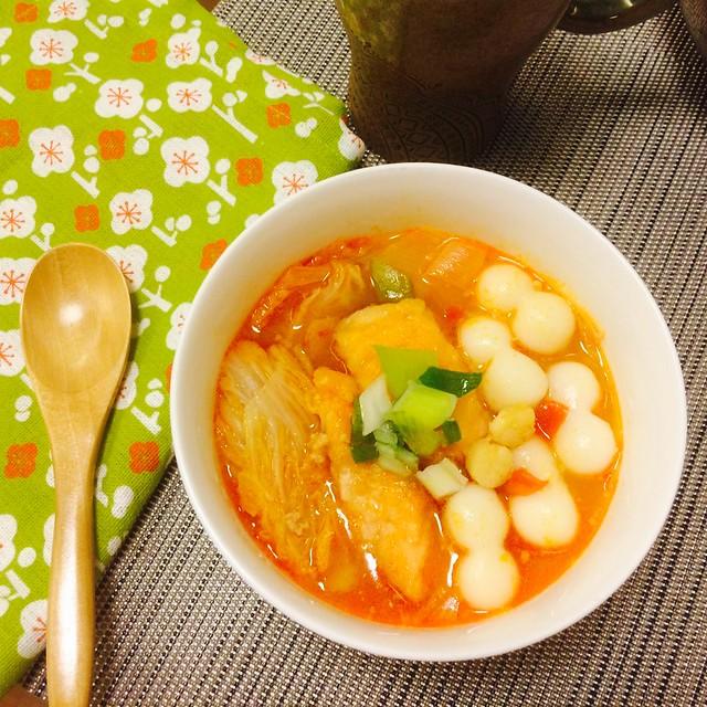 做給你心愛的歐巴- 韓式蜜辣海鮮年糕鍋食譜(2人份)