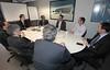 Primeira conversa entre CNJ e STF para tratar sobre a implantação do Escritório Digital pela Suprema Corte