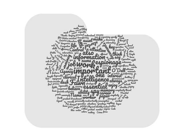 wordcloud agent fawn