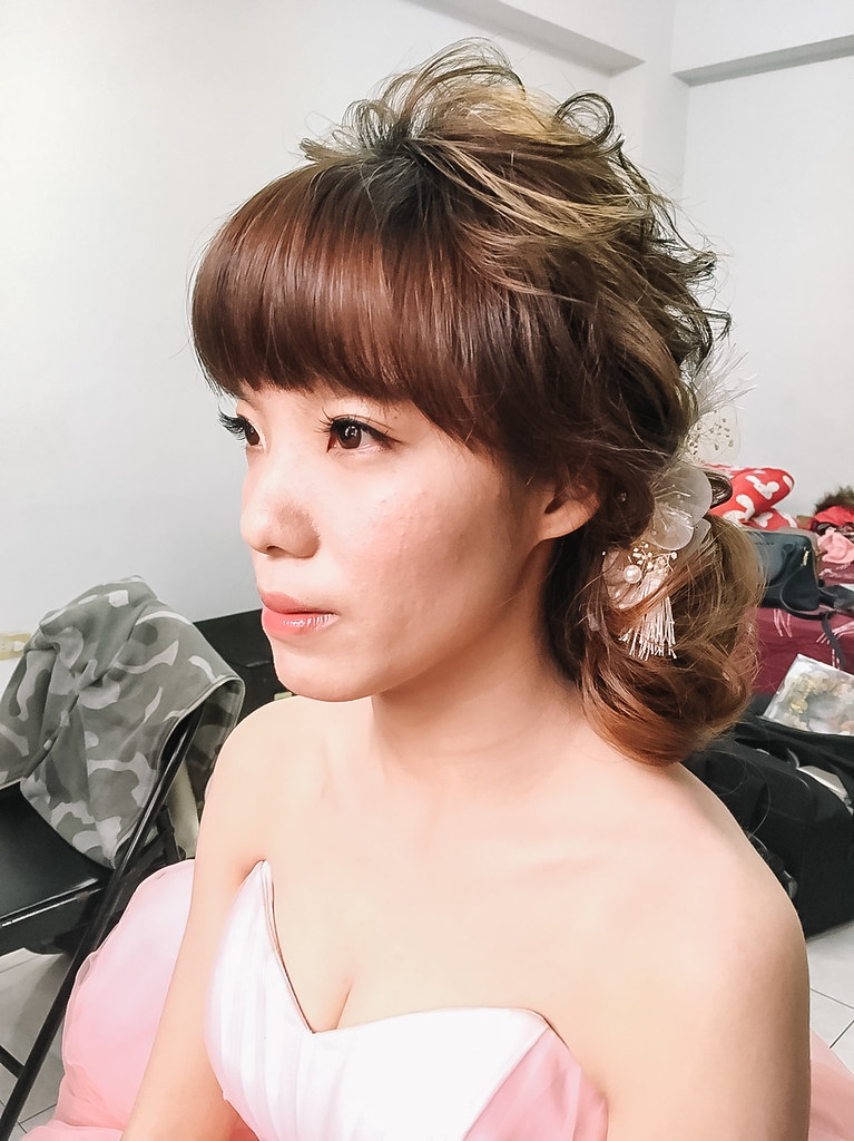 2016/01/15|毛毛&李耳|台中新秘