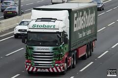 Scania R440 6x2 Tractor - PF10 FCU - Freya May - Eddie Stobart - M1 J10 Luton - Steven Gray - IMG_9144