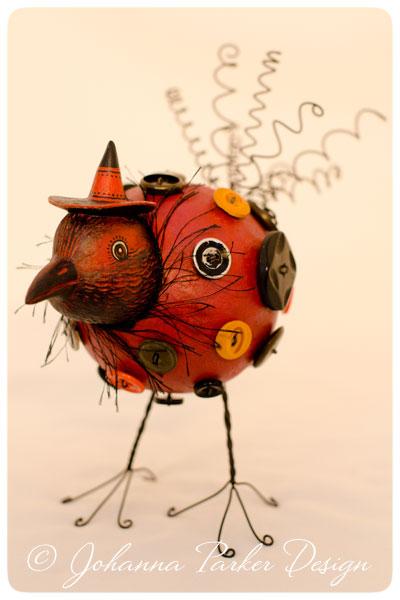 Standing-Crow-Buttonbird