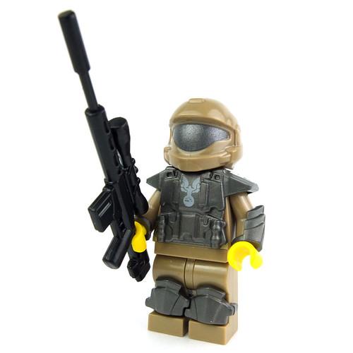 Lego Minifig Halo by LaPetiteBrique.com