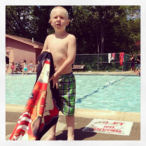 #summervacation day thirteen. different pool today. same kind of fun.