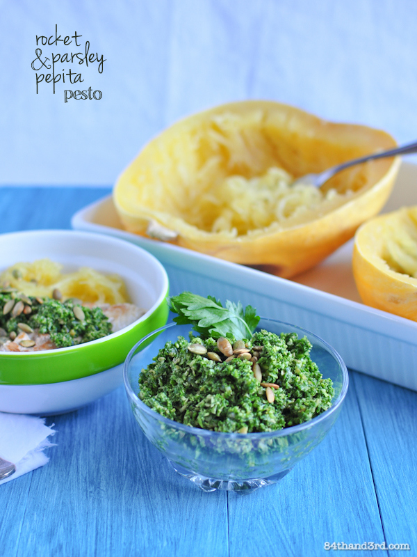 Rocket, Parsley & Pepita Pesto