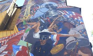 Battle of Canal Street Mural