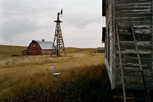 Eugene Richards, Near Regent, North Dakota, September, 2006