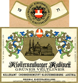Austria - Klosterneuburger Kabinett 1971