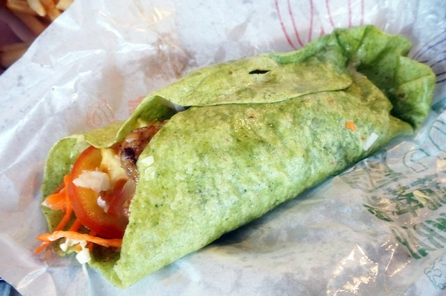 McDonalds in Chengdu - Vegetable Wrap-002