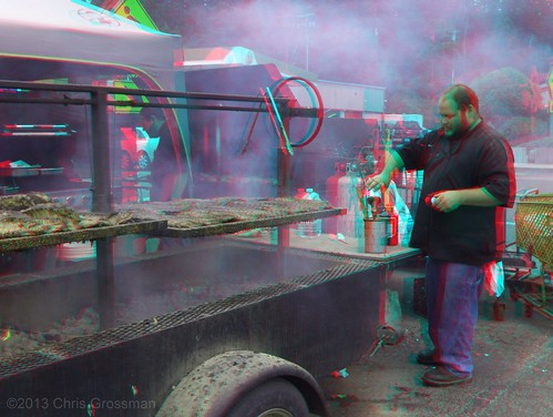 california summer chicken real 3d surf market anaglyph bbq supermarket stereo barbecue finepix fujifilm w1 gualala foodstore tritip porkribs mendocinocounty redcyan chciken real3d redcyananaglyph surfsupermarket chrisgrossman surfmarket fujifilmfinepixw1 surfmarketbbq