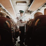 Митник #border #ukraine #poland #patrol #man #official #passport #travel #travelgram #trip #bus
