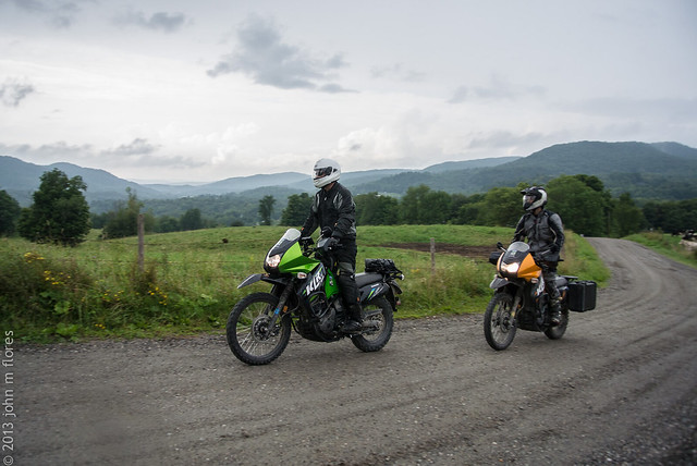 Exploring Vermont's Dirt Roads on Dual Sport Motorcycles