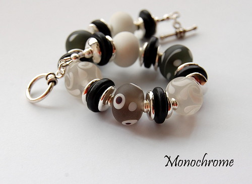 Monochrome Bracelet - SOLD by gemwaithnia
