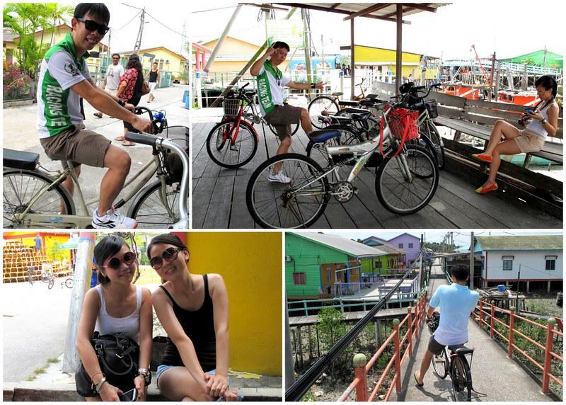 Pulau Ketam, Crab Island - cycling
