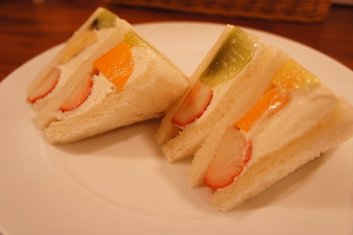 Fruit sandwitch