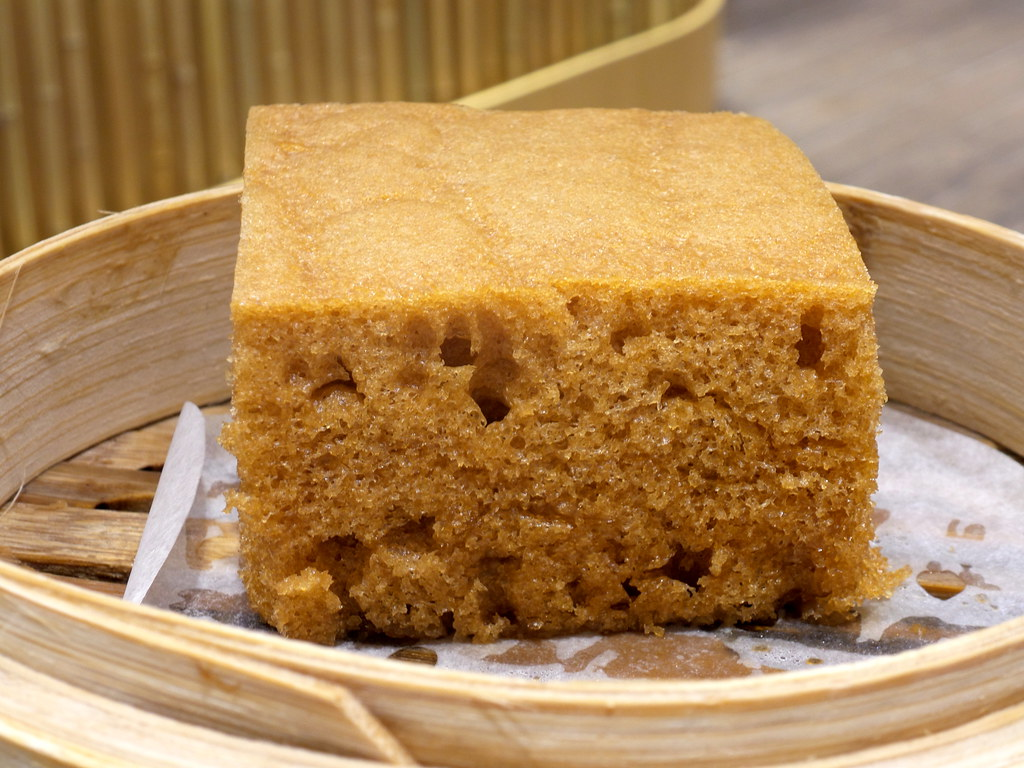 Tim Ho Wan's version of Malay Steamed Cake (Ma Lai Gao).